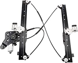 Power Window Regulator with Motor Assembly Rear Left Driver Side Replacement fit for 2003 2005 2006 Cadillac