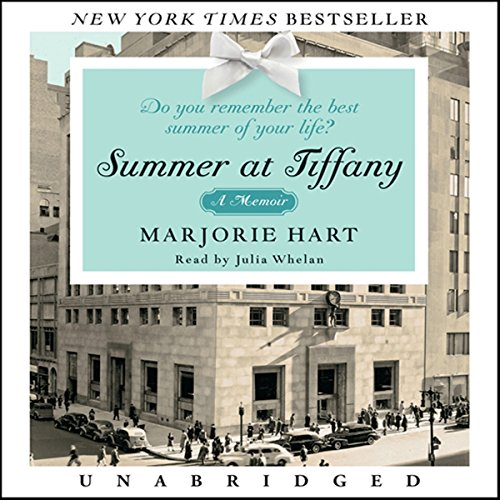 Summer at Tiffany audiobook cover art