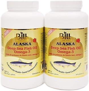 Bill Natural Sources Alaska Deep Sea Fish Oil 1000mg, 200 softgels