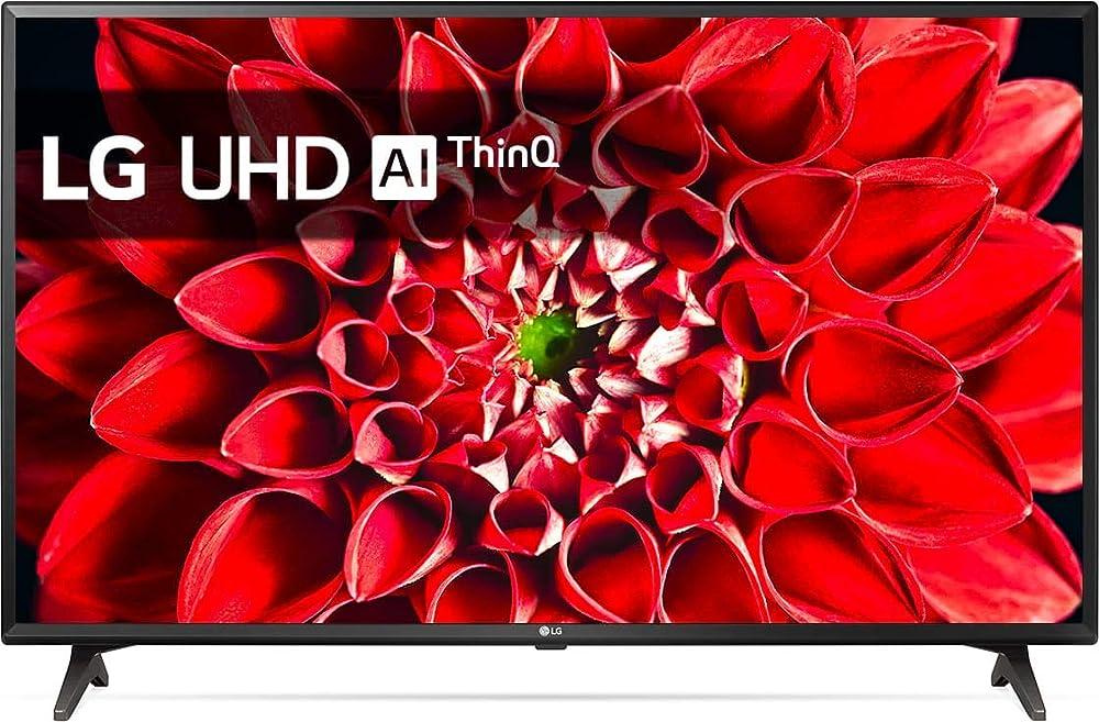 Lg smart tv led 43 pollici, 4k, dvb t2, internet, wi-fi 43UM7050