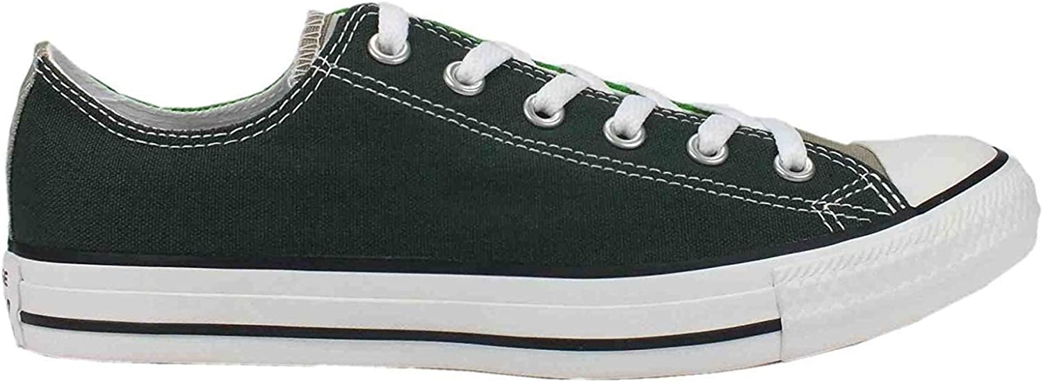 Converse Low shoes Star Classic In Green Bottle Fabric 142392C
