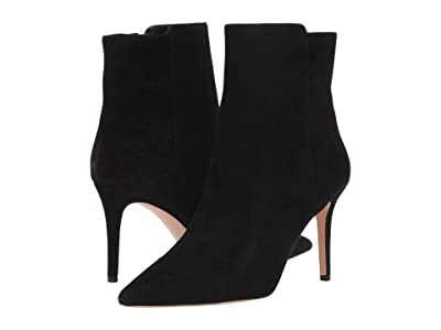 J.Crew Suede Lana Ankle Boot (Black) Women