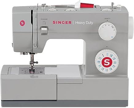 SINGER Heavy Duty - Máquina de coser (Gris, Máquina de coser automática, Costura, 1 paso, Variable, Variable)