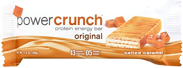 BioNutritional Bar,Crunch,Salted Caramel 1.4 OZ (Pack of 12)