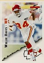 1995 Score #26 Willie Davis Chiefs