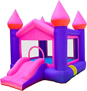 Doctor Dolphin Inflatable Bouncy Castle Bouncy House Inflatable Bounce House with Air Blower for Kids Party