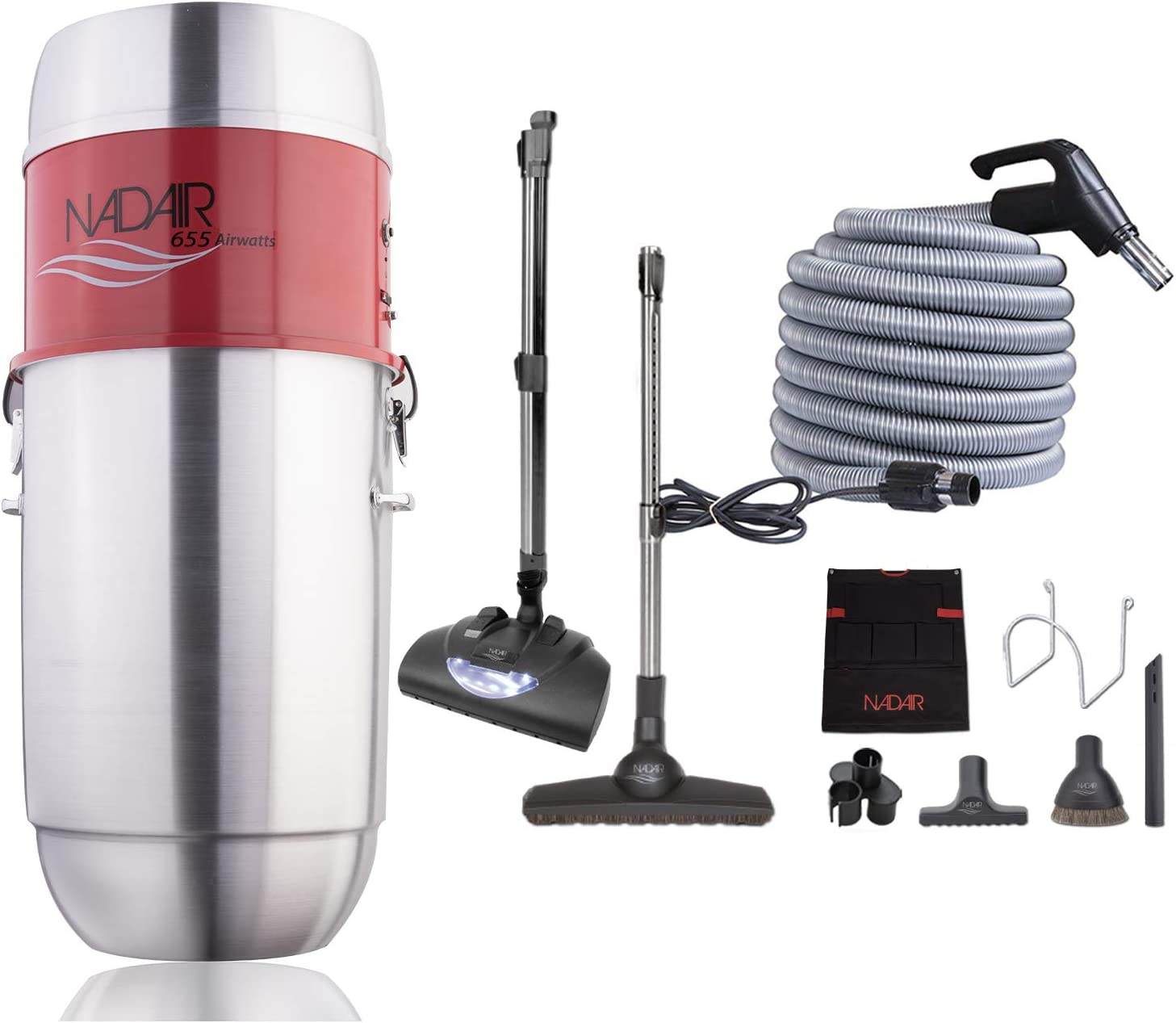 Nadair 655 AW Light Commercial Central Hybrid service Vacuum Limited price sale Fil System
