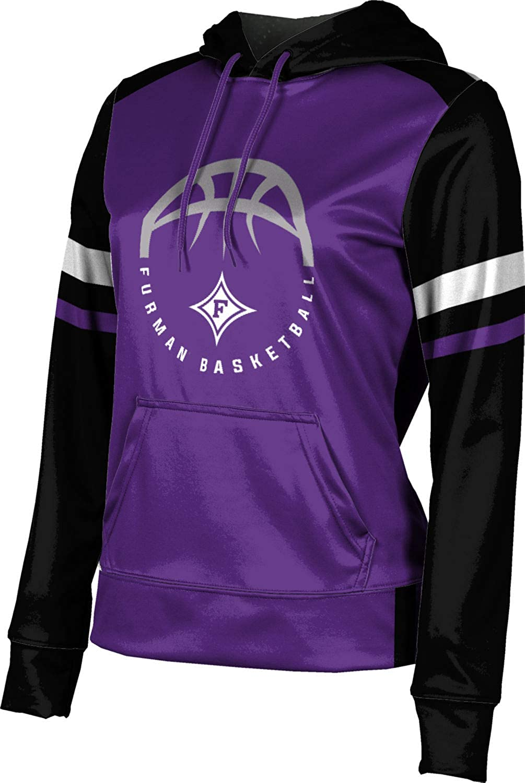Furman University Basketball Girls' Pullover Hoodie, School Spirit Sweatshirt (Old School)