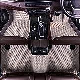 Completa Cobertura Coche Cuero Alfombrillas para Maserati Granturismo 2015-2020, Todo Clima Antideslizante Impermeable Protección Alfombrillas, Decorar Proteccion Accesorios
