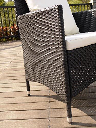 Keter/chalet et jardin ENSEMBLE HAUT ATLANTA composé d'1 table + 6 fauteuils
