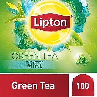Lipton Green Tea Bags Mint, 100s