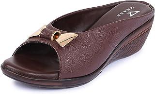 TRASE Starli Soft Comfortable Heels/Wedges for Women - 1.5 Inch Heel