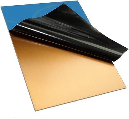 AERZETIX: 2x Placas tablas hojas de cobre para circuito impreso 100/75/1.5
