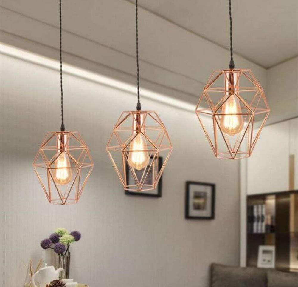 Nachtlicht-Wandlampe Führte Lampe Schmiedeeisernen Geometrischen