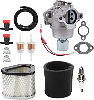 Hayskill 42-853-03-S Carburetor with M92359 Air Filter for Kohler CV15 CV15S CV14 15 HP Engine John Deere GY20574 LT155 Carb Replace 20-853-33-S 12-853-93-S 1285393-S 12-853-93-S