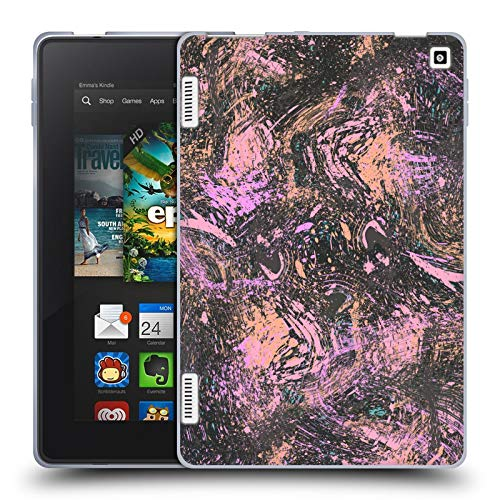 Head Case Designs Officially Licensed Ninola Dust Coral Modern 2 Soft Gel Case Compatible with Amazon Fire HD 7