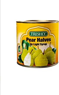 Fruit Pear Halves In Syrup 2500G