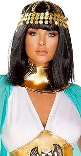 Sexy Cleopatra Egyptian Queen Gold Coin Headpiece