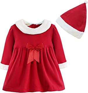 636c98cece523 YiZYiF Bébé Fille Robe de Noël Robe de Baptême Robe à Manche Longue Robe  Soirée Carnaval