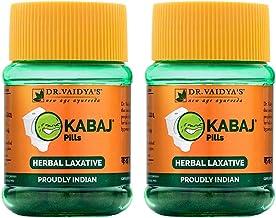 Dr. Vaidya's New Age Ayurveda   Kabaj Pills   Ayurvedic Laxatives For Constipation   30 Pills x 2