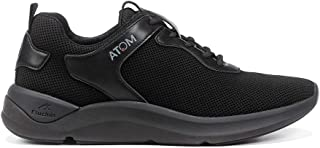 Fluchos | Deportivo de Hombre | Atom F1251 Activity Black | Deportivo de | Cierre con Cordones | Piso EVA