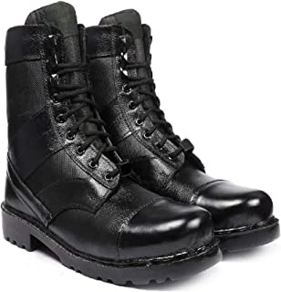 Blinder Mens Black Lace-up Long Leather Boot