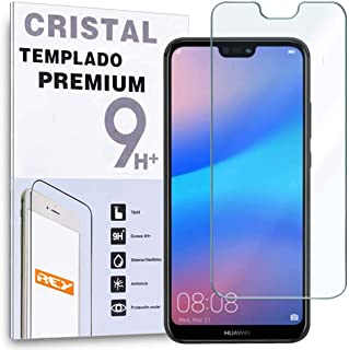 comprar comparacion Protector de Pantalla para Huawei P20 Lite - Nova 3E, Cristal Vidrio Templado Premium