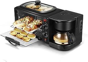 Agradecido por todo Máquinas para Hacer Pan 3 En 1 Máquina De Desayuno Cafetera Eléctrica Multifunción Sartén Mini Horno Pan para El Hogar Horno para Pizza Sartén