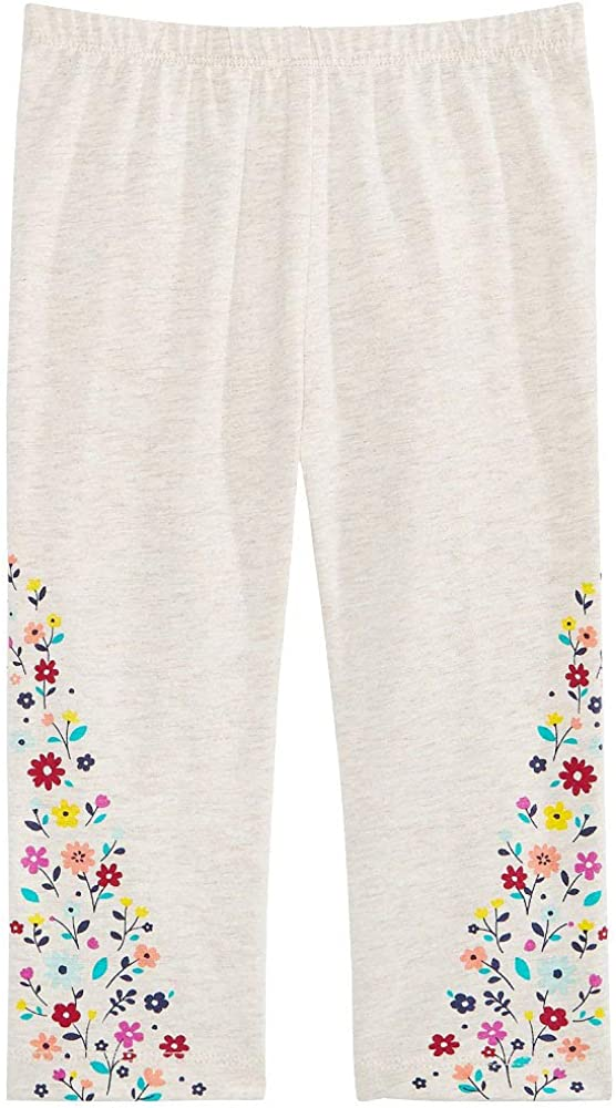 First Impressions Baby Girls Floral-Print Leggings