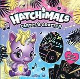 Hatchimals Cartes à gratter: Avec 10 cartes, 1 bâtonnet