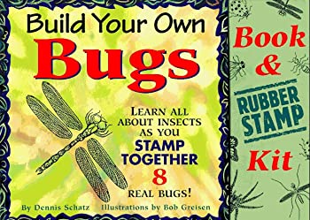 Paperback Build Your Own Bugs: Learn All About Insects As You Stamp Together 8 Real Bugs!/Book and Rubber Stamp Kit Book