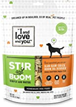 I and love and you Stir & Boom Dehydrated Freeze Dried Raw Dog Food Topper (Variety of Flavors)