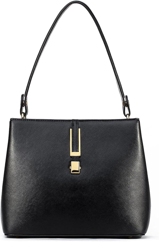 NAWO Women Leather Handbag Designer Purse Shoulder Tote Crossbody Bag