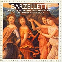 Barzelette North Italian Frottole Early 16th Centu