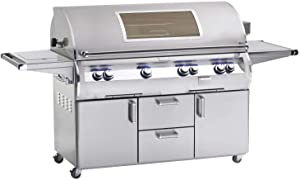 E1060s4EAN62W Analog Style Stand Alone Grill - Natural Gas