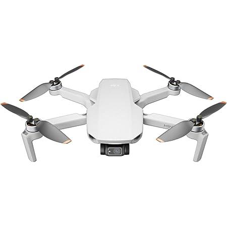 DJI Mini 2 – Ultralight and Foldable Drone Quadcopter, 3-Axis Gimbal with 4K Camera, 12MP Photo, 31 Mins Flight Time, OcuSync 2.0 10km HD Video Transmission, QuickShots Gray