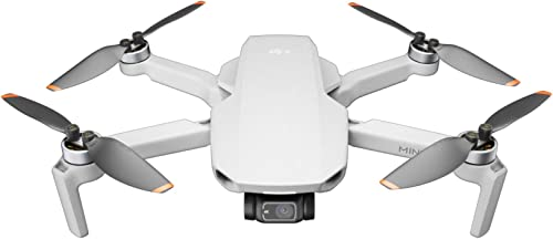DJI Mini 2 – Ultralight and Foldable Drone Quadcopter, 3-Axis Gimbal with 4K Camera, 12MP Photo, 31 Mins Flight Time,...