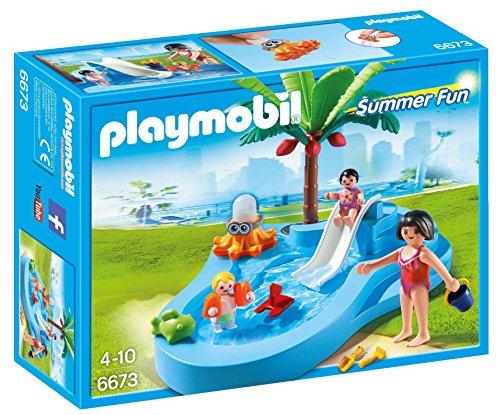 PLAYMOBIL: Piscina para niños con beb