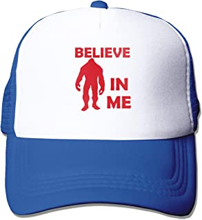 EC98TCE Sasquatch Research Unit Trucker Hats Men's Hat Outdoor Adjustable Mesh Back Trucker Cap