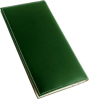 [Dom Teporna] 財布 メンズ 本革 薄型 折りたたみ 長財布 イタリアンレザー 内 ヌメ革 全3色
