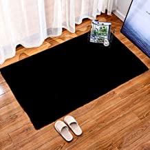 Rectangular Carpet Living Room Study Imitation Rabbit Fur Thickened Warm Non-Slip Rugs Balcony Bay Window Mat,2,40 * 60cm