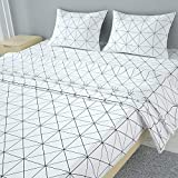 MUBYTREE Full Size Sheets Bed Sheets of Microfiber with Deep Pocket Extra Soft Wrinkle Free Fading Resistant Hypoallergenic