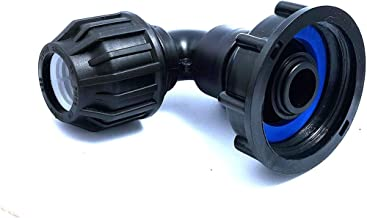 Verbindingsstuk S60x6 met afvoer gebogen, 32 mm