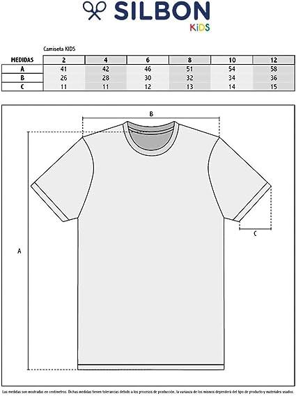 SILBON - Camiseta Kids Cuadros Blanca para Niño: Amazon.es: Ropa