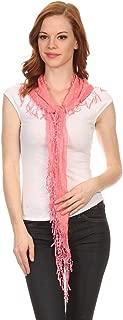 fishnet scarf pattern