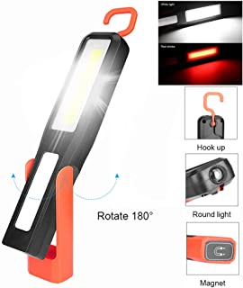 NszzJixo9 COB LED Magnetic Work Light Car Garage Mechanic Home Rechargeable Torch Lamp for Car Repair Household and Emergency Use