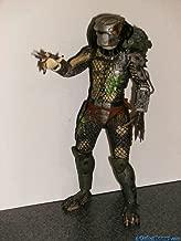 Predators NECA 2010 Movie Series 2 Action Figure Battle Damaged Classic Cracked Mask