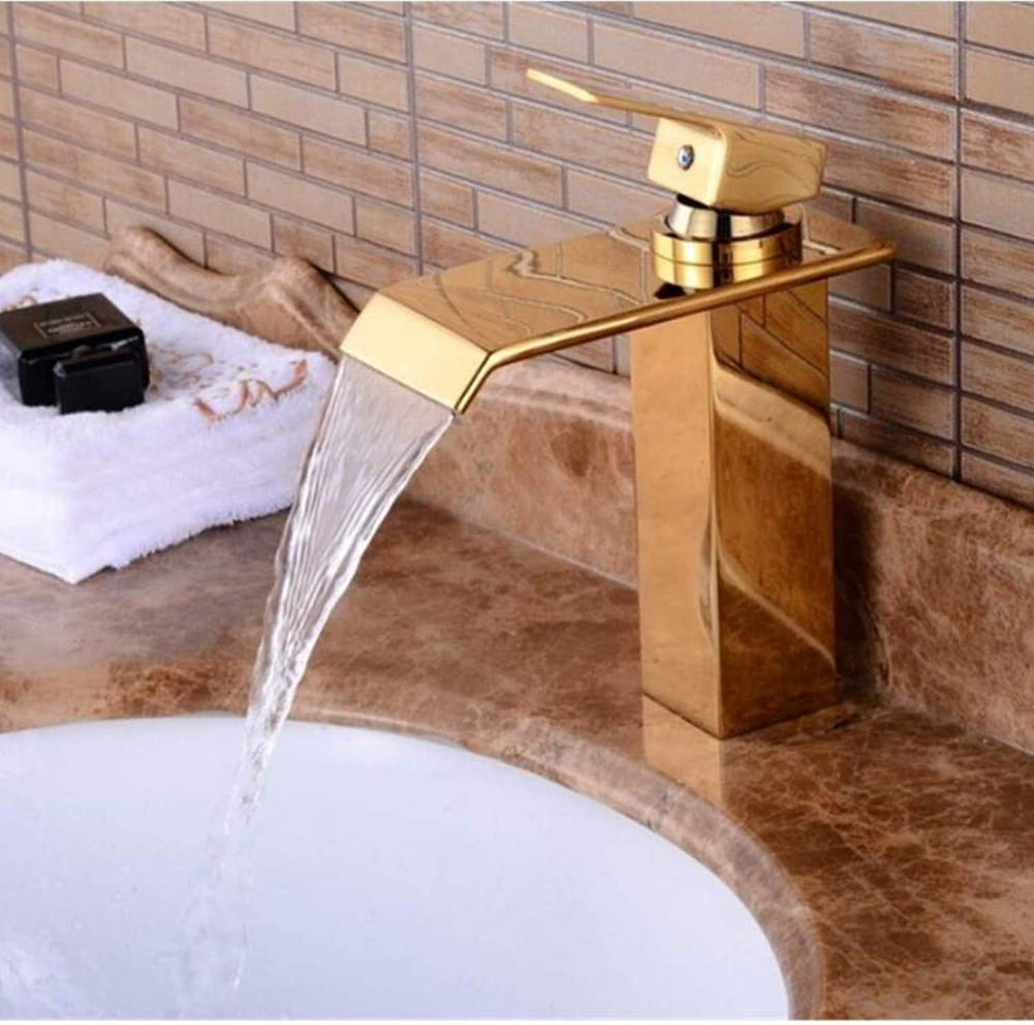 Brass Wall Faucet Chrome Brass Faucetfaucet Hot and Cold Deck Mounted