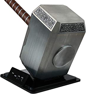 Gmasking Aluminum Norse Mythology Thor Solid Cosplay Hammer Full Size Exclusive Replica