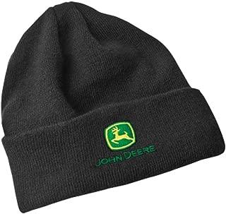 Fleece Lined Black Knit Hat